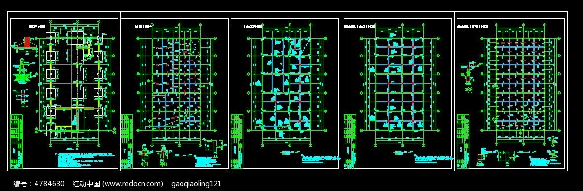 楼房cad建筑图纸图片