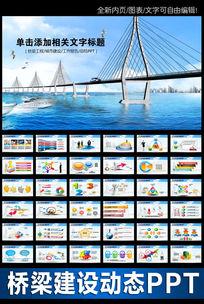 桥梁大河城市工程建筑规划ppt