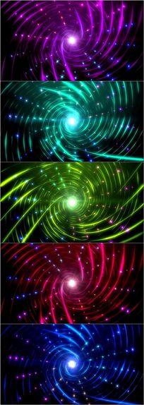 动感光线漩涡舞台LED背景视频素材 mov
