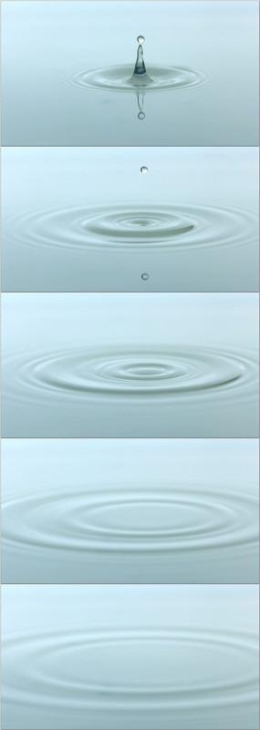 高清水波纹视频素材