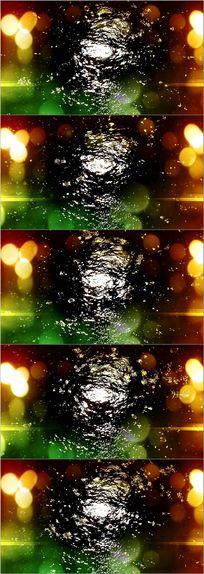 光斑雨滴抒情舞台led背景视频素材