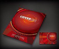 红色电玩科技宣传册封面设计