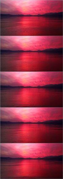漂亮太阳海洋LED背景视频素材 mov