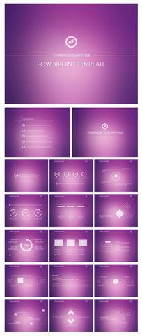 ios表格简洁模板风格ppt动画绘制白色说课稿图片
