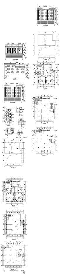 插座电线电箱系统cad图dwg素材下载