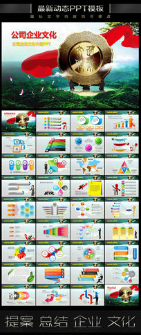 公司企业文化投标PPT