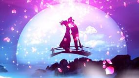 浪漫七夕视频背景素材