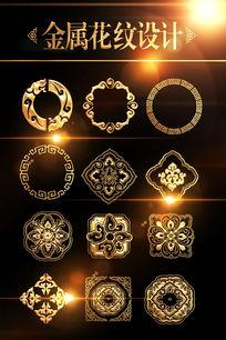 传统金属花纹图案设计