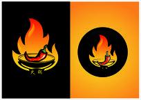 火锅标志 CDR