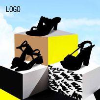 女鞋 天猫淘宝直通车设计 主图设计 海报