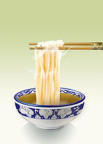 青花瓷碗PSD分层素材