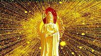 金色光线观音动态视频