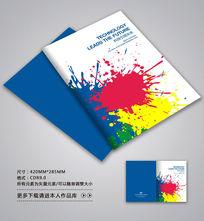 油漆产品画册封面设计