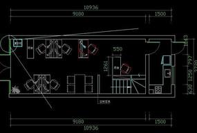 办公室一楼平面设计图