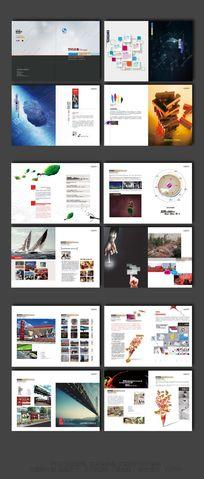 广告公司宣传画册设计