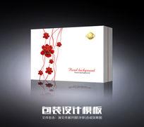 时尚牡丹化妆品包装-平面图 CDR