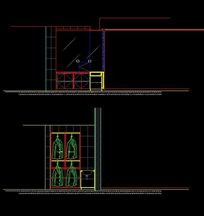 衣柜设计CAD图纸