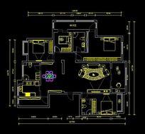 大户型家装平面图 CAD