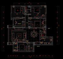 家装户型家具平面图