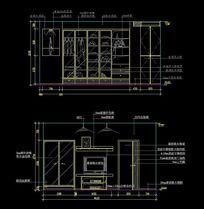 卧室衣柜内部设计图