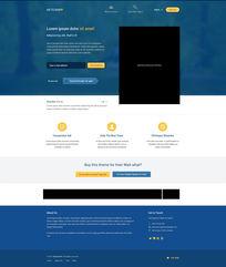 应用网页界面背景设计PSD素材