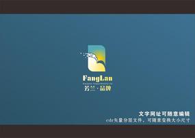 飞翔海鸥房地产楼盘品牌logo标志cdr矢量