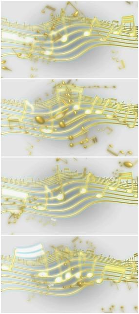 动态|特效|背景视频 超级高清音乐音符五线谱视频素材  小提琴五线谱图片