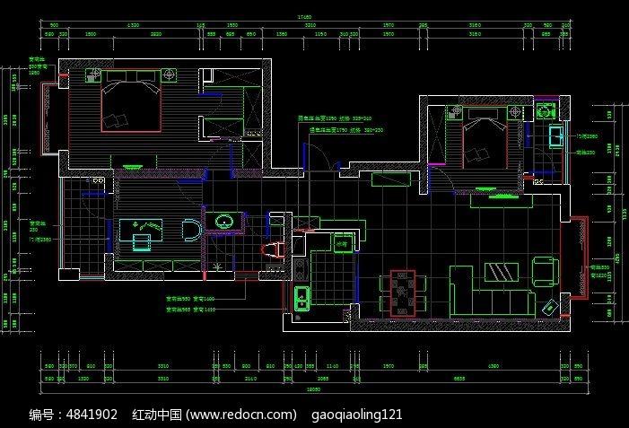 平面家具规划设计图图片
