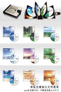 瑞士班得瑞音乐光碟封套设计psd源文件