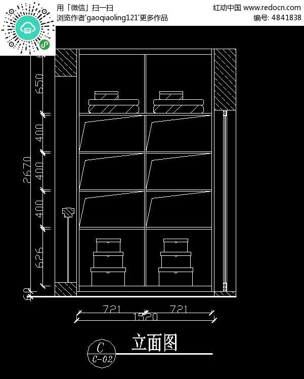 小型图纸内部设计图_CAD图纸图片素材cad变成格式jpg衣柜图片