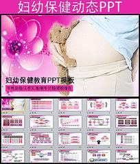 医院孕妇保健健康检查计划生育PPT模板