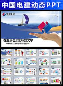 中国电力建设电建集团公司工作汇报PPT