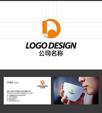 D字母的LOGO标志设计