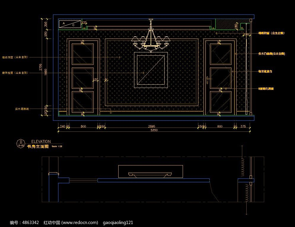 沙发欧式背景图纸墙v沙发图纸CAD素材下载_建建筑别墅3d图片