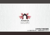 火锅广告品牌logo标志cdr矢量图