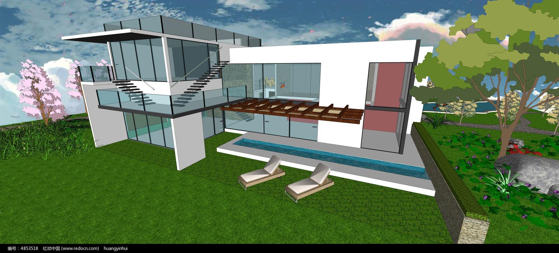后庭院景观设计