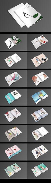 鞋子画册设计