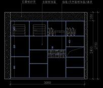 衣柜内部结构尺寸图纸