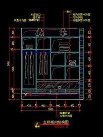 主卧室内部结构图