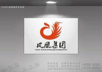 字母凤凰标志 C字母凤凰标志 CDR