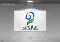 绿叶凤凰logo g字母凤凰logo