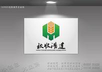 农业科技标志 绿色生态农业logo CDR