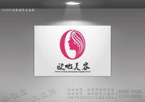 企业LOGO标志 女孩标志 女子logo CDR