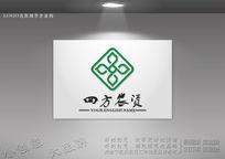 装饰公司标志 四方标志