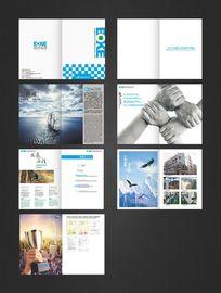 大气企业形象宣传画册设计