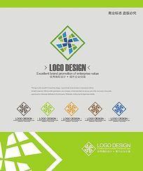 建筑地产企业商业logo设计