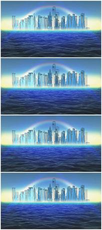 三维城市视频素材