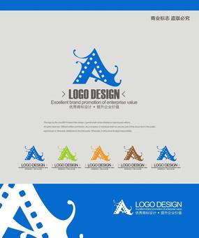 影视摄影商业服务企业logo设计