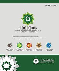 银行理财服务商业标识logo设计