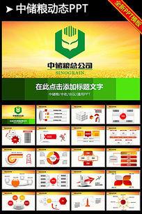 中国储备粮管理总公司中储粮ppt模板